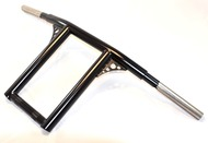 adjustable t-bars with gussets for dyna and sportster