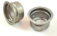 stock oem weld in screw type filler bung neck gas tank steel