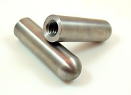 "1/2"" x 13 motor mount blind threaded bullet mounting bung"