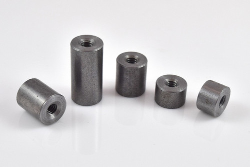 """1/4"""" x 20 threaded weld on mild steel bung"""