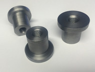Wide Flange 1/2 x 20 Threaded Stepped Handlebar Bung