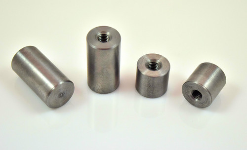 metric m6 x1.0 mild steel threaded weld on mounting bung