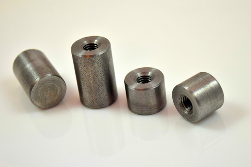 m8 x 1.25 metric mild steel weld on threaded mounting bung