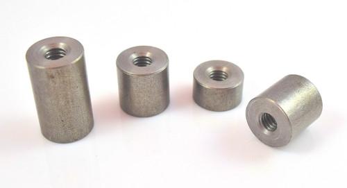 """5/16"""" x 18 threaded mild steel weld on bung weld nut"""