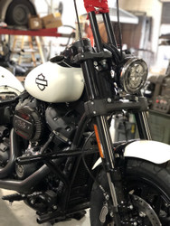 2018 fat bob round headlight conversion bracket kit