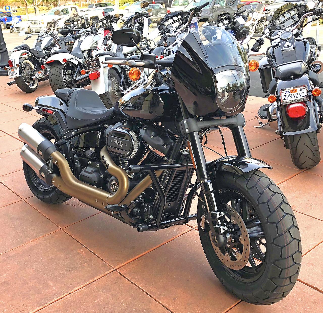 Harley Quarter Fairing To 49mm 2018 Softail Street Bob Low Rider