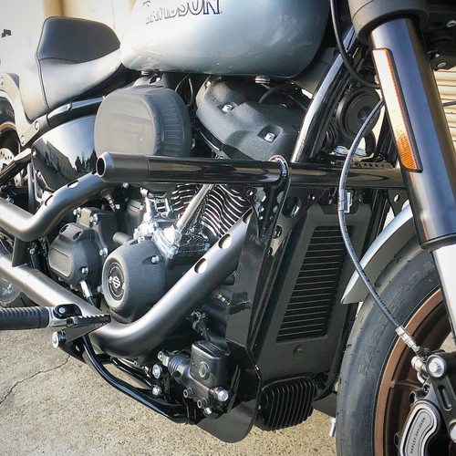 softail crashbar engine guard high bar frame slider low rider softial slim fat boy fat bob 2018 2019 2020 s