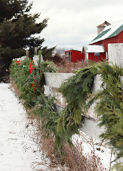 Mixed Christmas Garland