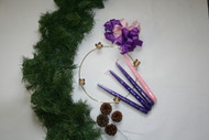 Advent Wreath Kit Bulk (25 - kits)