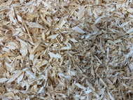 All Natural Kiln Dried Wood Shavings (18 Liters, 1,100 Cubic inches)