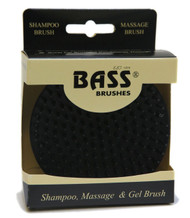 BASS Shampoo, Massage, and Gel Pet Brush Palm Style with Nylon Pins A26