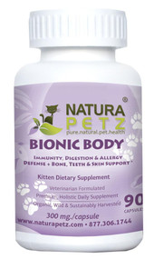 Natura Petz BIONIC BODY - BONE, TEETH EYE & SKIN SUPPORT* KITTEN