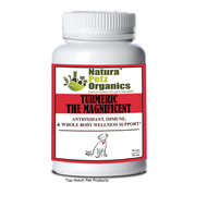 Natura Petz Organics TURMERIC the Magnificent - Antioxidant,  Immune & Whole Body Wellness Support * DOGS & Puppies