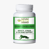 DOG & PUPPY SERENITY ZEN - ANXIETY, STRESS, RELAXATION & MULTI-SYSTEMS CALMING SUPPORT