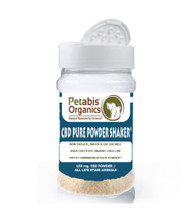 Petabis Organic CBD PURE POWDER SHAKER* DOG CBD POWDER SHAKER 150 mg.* CAT CBD POWDER SHAKER* CBD PET POWDER SHAKER*