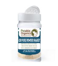 Petabis Organic CBD PURE POWDER SHAKER* DOG CBD POWDER SHAKER 150 mg.* CAT CBD POWDER SHAKER* CBD PET POWDER SHAKER*