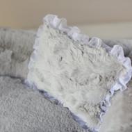 Hello Doggie Divine Dog  Bed -  Grey