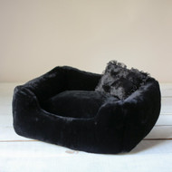 Hello Doggie Devine Bed -  Black