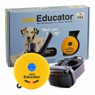 E-collar Technologies Mini Educator E-Collar 1/2 Mile Remote Dog Training Collar ET-300 Yellow