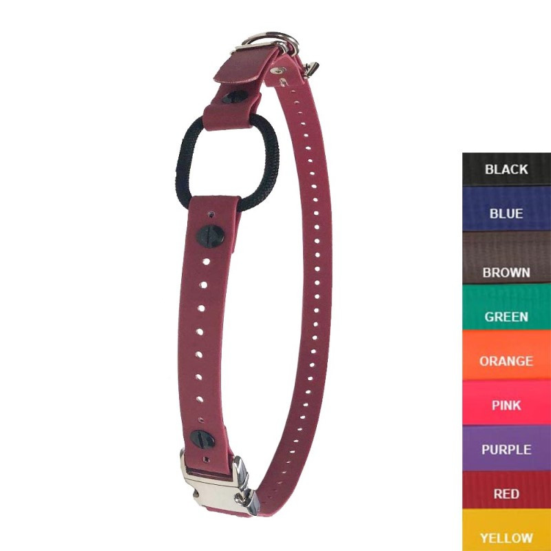 E Collar Technologies 3 4 Quick Snap Biothane Bungee Collar 37 Length In 9 Colors Top Notch Pet Products