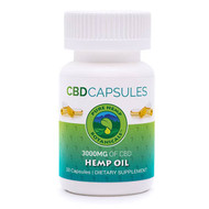 Pure Hemp Botanicals Pure Hemp CBD Oil Capsules 3,000mg