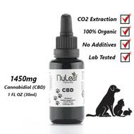 NuLeaf  Naturals 1450 Mg Full Spectrum PET CBD Oil, High Grade Hemp Extract (50mg/ml)