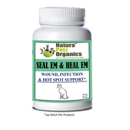 Natura Petz Organis Seal Em & Heal Em for CATS - ALL Life Stages