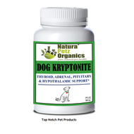 Natura Petz Dog Kryptonite Adrenal, Thyroid, Pituitary Hypothalamic  Support Cushing's ADULT & SENIOR 250 Capsules