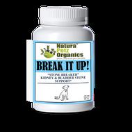 Natura Petz BREAK IT UP! Stone Eliminator Kidney, Gallstone & Liver Support   DOG ALL TYPE  250 Capsules