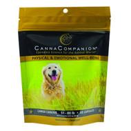 Canna Companion for LARGE DOGS 21-50lbs.  440 Mg per Capsule of FS Hemp 60 caps