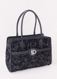 Black Majestic Luxury Carrier by Hello Doggie