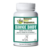 Natura Petz BIONIC BODY - BONE, TEETH EYE & SKIN SUPPORT* All Life Stages 90 Capsules