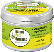 Natura Petz  KRYPTONITE MEAL TOPPER for ADULT CAT - ADRENAL, THYROID, PITUITARY & HYPOTHALAMIC SUPPORT*