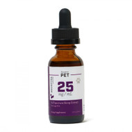 Receptra Naturals  CBD Tincture for LARGE PETS >40 lbs 25mg Dose (1oz)