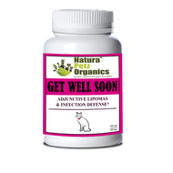 Natura Petz Get Well Soon Adjunctive Lipoma & Infection Disease CATS -150 Capsules