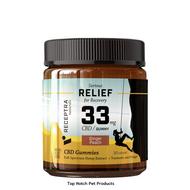 Receptra Naturals Serious Relief Gummies 33mg / 30 Gummies for HUMANS