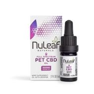 Nuleaf naturals Organic Full Spectrum Hemp Oil 5ml/300mg CBD for PETS .17FL OZ