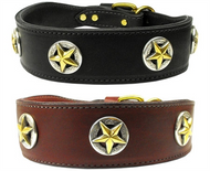 Mirage Pet Products Lone Star Dog Collar