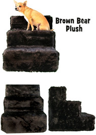 Brown Bear Plush Pet Steps by Pet  Flys