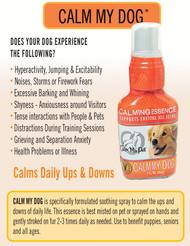 Calm My Dog - Essence Spray for Anxious Dogs