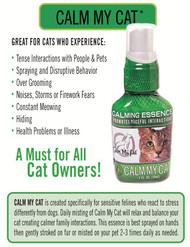 Calm My Cat Essence: Cat Calming Spray