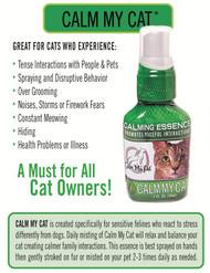 Calm My Cat Essence: Cat Calming Spray