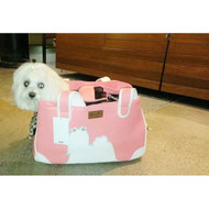 """""""Majestic Maltese""""  Rescue Me Tote Airline Dog Carrier in Faux Leather"""