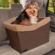 Pet Safety Seat for Car- Standard Model Color Brown