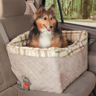 Deluxe Pet Safety Seat, Quilted Pad