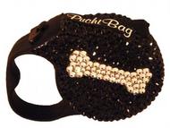 Swarovski Crystal Lead - Caviar with Crystal Bone