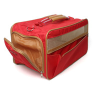 Bark n Bag Classic Nylon Carrier Collection - Red