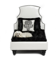 Beverly Hills Black Pet Bed