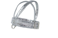 V-HARNESS - Chrome Silver & Matching Lead