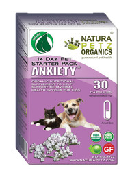 Natura Petz Organics Anxiety Starter Pack for Dogs* - Anxiety Starter Packs for Cats *